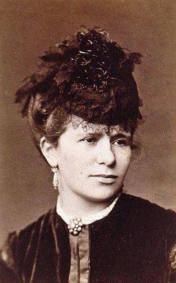 Marie Jaell-Jeune femme