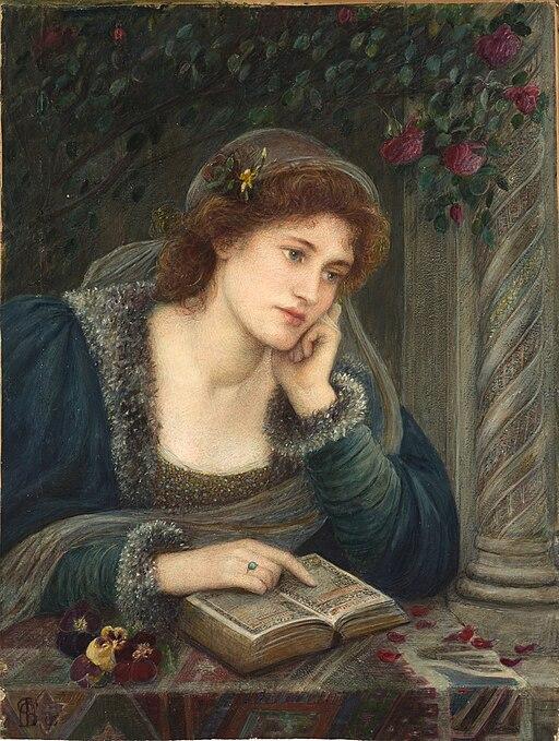 Marie Spartali Stillman - Beatrice (1895)