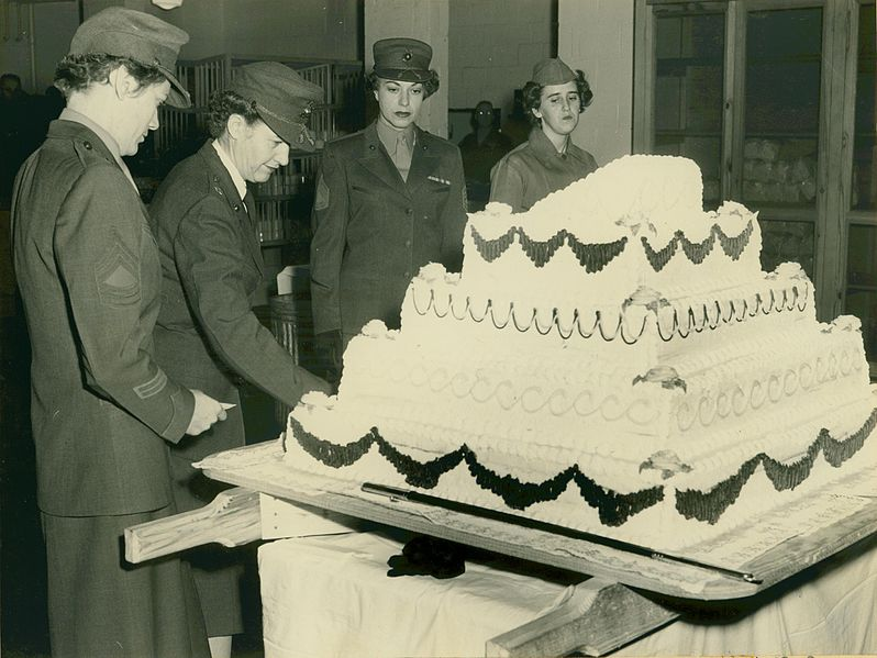 Marine Corps Birthday Cake Ceremony