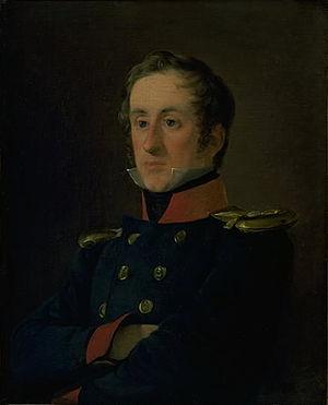 Emil Normann - Emil Wilhelm Normann, portrait by Jørgen Roed (1830)