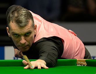 Mark Davis (snooker player) - Mark Davis at the 2015 German Masters