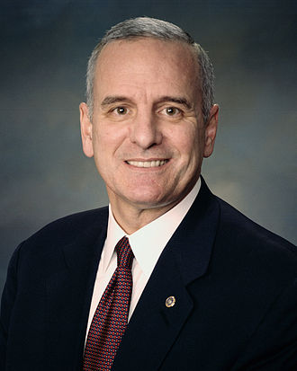Governor of Minnesota - Image: Mark Dayton official photo