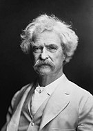 Fotografia de Mark Twain