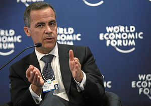 Mark Carney, Governor of the Bank of Canada. W...