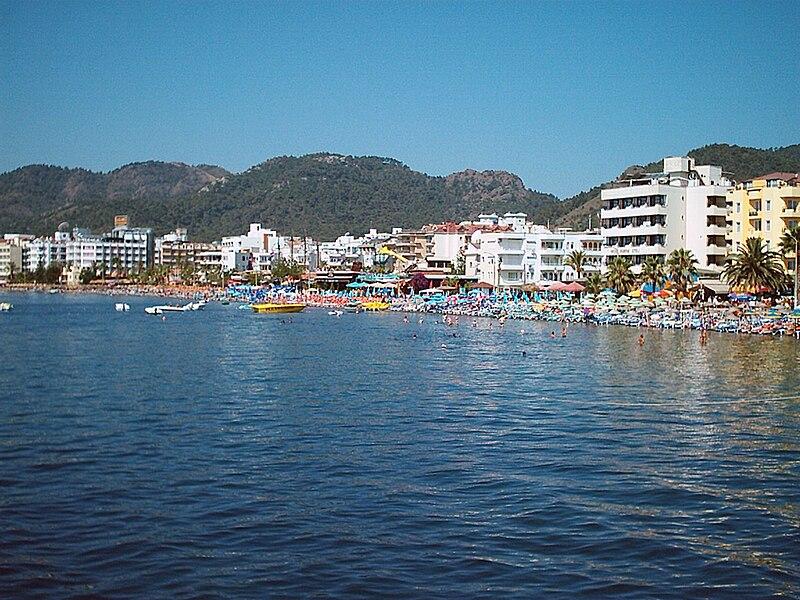 File:Marmaris-beach.jpg