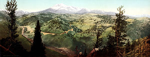 Marshall Pass - Marshall Pass in 1899