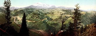 Mount Ouray - Image: Marshall Pass, Colorado, 1899