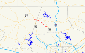 Maryland Route 88 - Image: Maryland Route 88 map