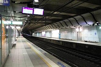Airport Link, Sydney - Image: Mascot Railway Station (1)