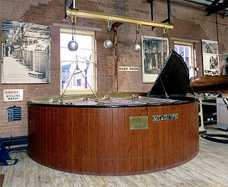 Brewing - A mash tun at the Bass Museum in Burton-upon-Trent