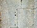 Mass dial on buttress of Holy Cross church (close up) - geograph.org.uk - 1468962.jpg
