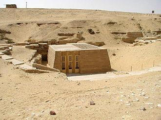Khnumhotep and Niankhkhnum - The mastaba of Khnumhotep and Niankhkhnum.
