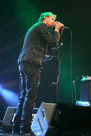 The National (band) - Vocalist Matt Berninger in 2007