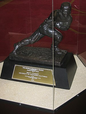2004 NCAA Division I-A football season - Heisman Trophy won by Matt Leinart for the 2004 season