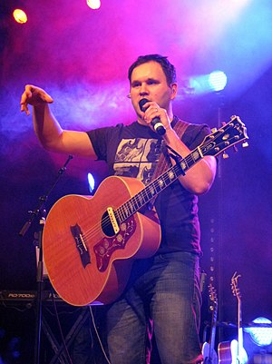 Matt Redman - Image: Matt Redman at Dettingen an der Erms (Germany) December 2010