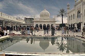 Shrine of Meher Ali Shah - The shrine of Peer Meher Ali Shah is located in Golra Sharif