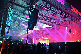 Mayday (music festival) - Image: Mayday 2009 dortmund halle 2