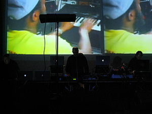 Industrial hip hop - Meat Beat Manifesto live in 2008