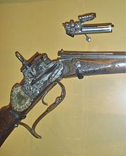 Mechanism for 1715 breech loading firearm