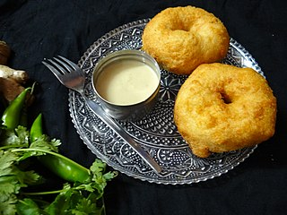 Vada (food) Category of savoury fried snacks from India