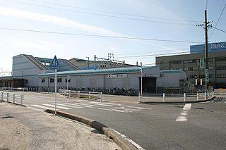 Enokido Station (Aichi) Railway station in Tokoname, Aichi Prefecture, Japan