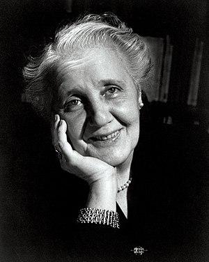 Melanie Klein - Melanie Klein in 1952