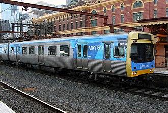 Metro Trains Melbourne - Image: Melboure Comeng 381M Metro