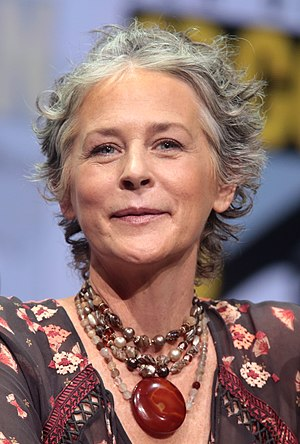 Carol Peletier - McBride's portrayal as Carol has been critically lauded by television commentators