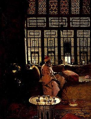 Arthur Melville - An Arab Interior, 1881, National Gallery of Scotland.