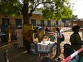 Member of the Australian Observer Team watching voting during the South Sudan referendum, Juba 2011. Photo- Australian Government (10698813585).jpg