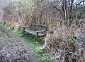 Memorial bench for Sylvia (1906-2003) - geograph.org.uk - 745078.jpg