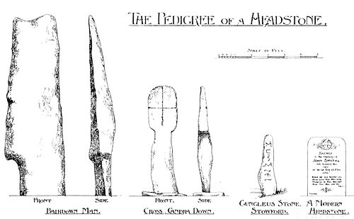 Menhir, Cross And Headstone - A Book of Dartmoor.jpg