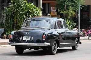 Mercedes-Benz S-Class - A 1950s W180 Ponton