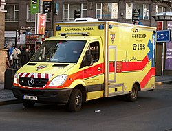 Mercedes Benz Sprinter Ambulance Prague 2012.JPG