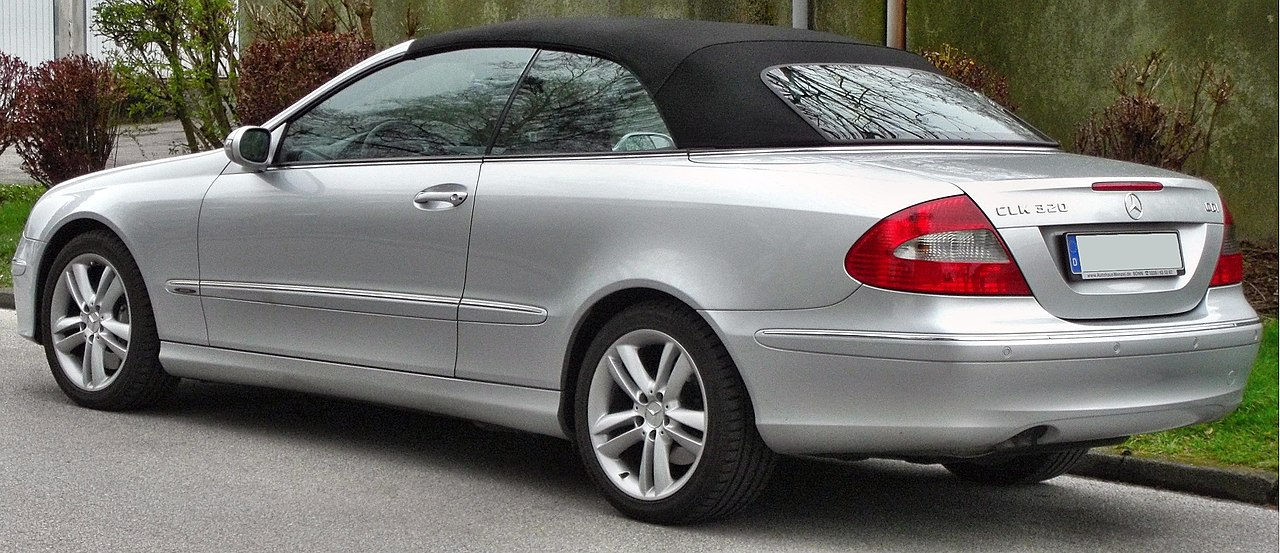 datei mercedes clk320cdi facelift avantgarde cabrio rear. Black Bedroom Furniture Sets. Home Design Ideas