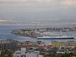 Traghettamento nello Stretto di Messina