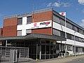 Meteor in Bockenem, Haupteingang.jpg