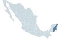 Mexico map, MX-ROO.svg