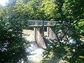 Mezica, dam of the former power plant Pustnik 02.jpg