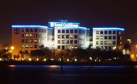 The Royal Caribbean International headquarters at the Port of Miami Miami-florida-royal-caribbean-building.jpg
