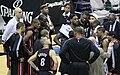 Miami Heat timeout vs Wizards 2010.jpg