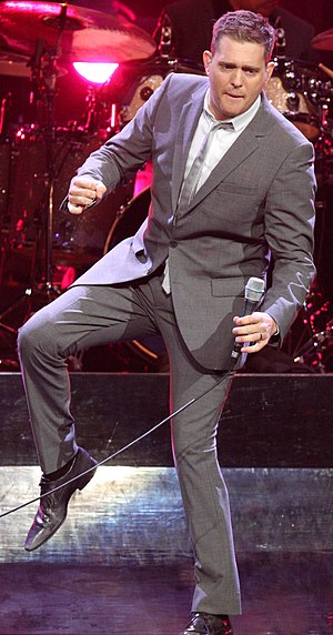 Michael Bublé - Bublé performing in February 2011