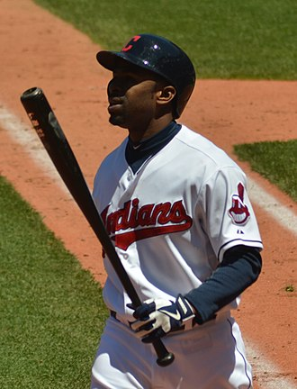 Michael Bourn - Bourn with the Cleveland Indians in 2013
