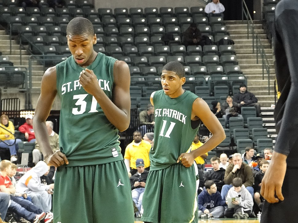 Michael Kidd-Gilchrist and Kyrie Irving