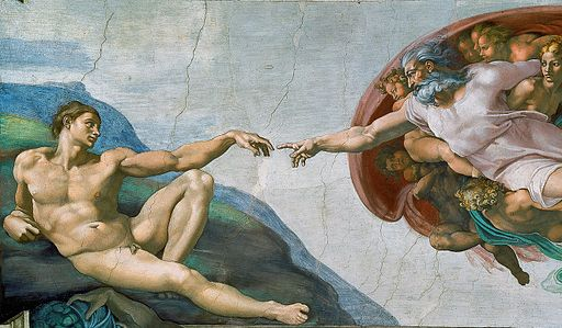 Miguel Ángel - Creación de Adán