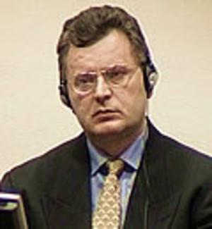 Škabrnja massacre - Image: Milan Babic ICTY