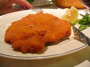 Lombard cuisine - Traditional cotoletta alla milanese