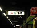 Milano staz Lambrate M2 segnaletica.JPG