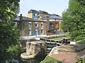 Mile End Lock, Regent's Canal, East London - geograph.org.uk - 48355.jpg