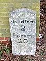 Milestone, Pimperne - geograph.org.uk - 1657771.jpg